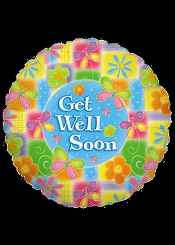 Get Well Soon - Helium Filled