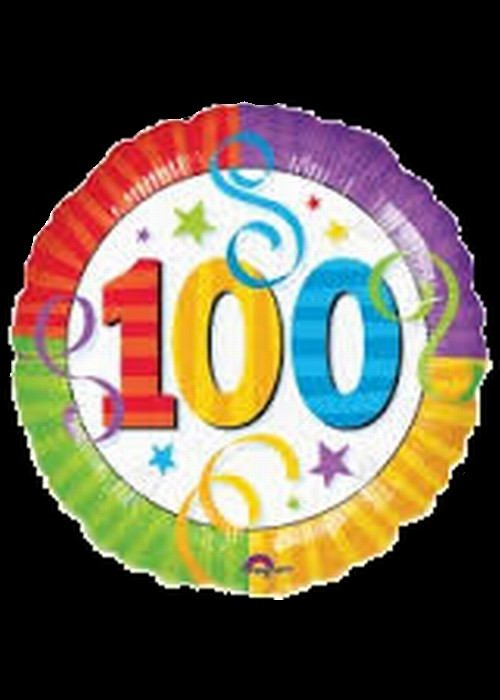 100th Birthday - Helium