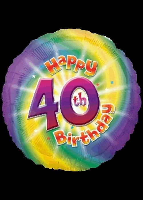 40th Birthday - Helium