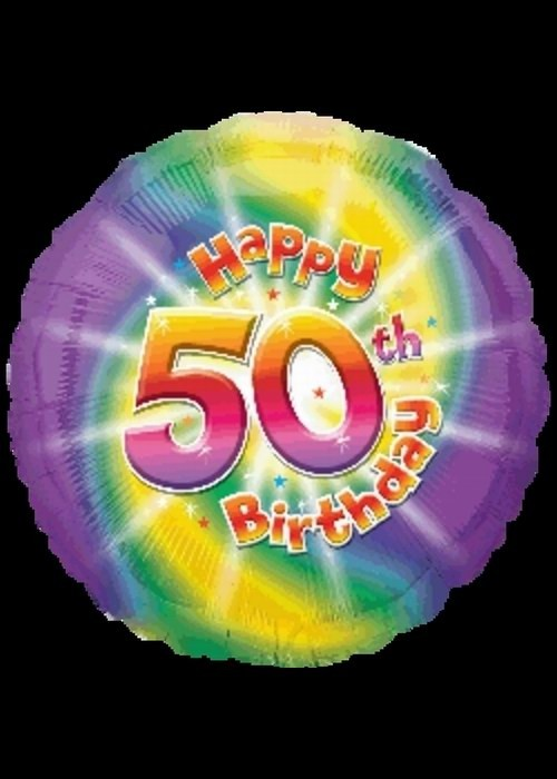 50th Birthday - Helium