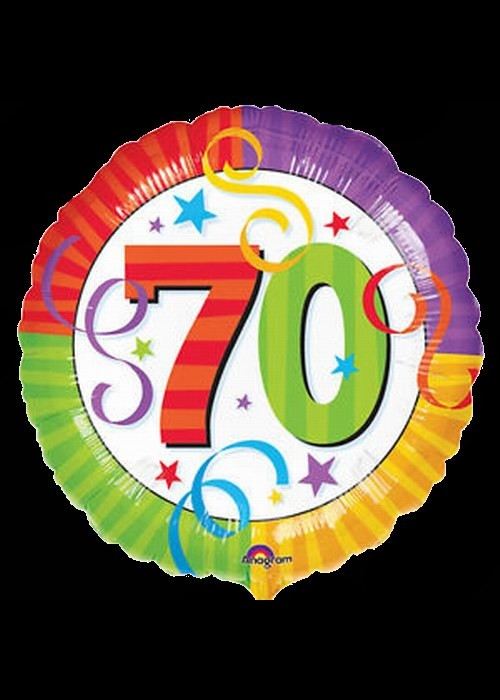 70th Birthday - Helium