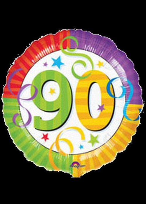 90th Birthday - Helium