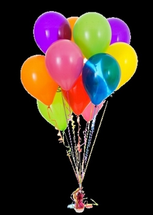 Latex Helium - Metallic Balloons